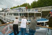 Plavba lodí cestujících — Stock fotografie