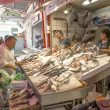Fresh seafood market — Stock Photo