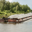 River barge — Stock Photo