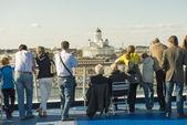 Kreuzfahrt schiff passagiere — Stockfoto