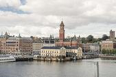 Helsingborg hamn — Stockfoto