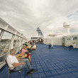 On board the cruise ship — Stock Photo