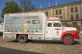 Tuborg retro car — Zdjęcie stockowe