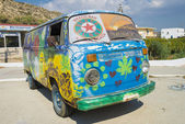 Hippie bus — Stock Photo