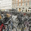 Bycicles in Copenhagen - Stock Photo