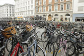 Bycicles in Copenhagen — Stock Photo