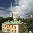 Peter and Paul Cathedral in Sankt Petersburg — Stock Photo #33711855