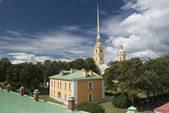 Peter and Paul Cathedral in Sankt Petersburg — Stock Photo