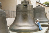 Big Novgorod bell — Stock Photo