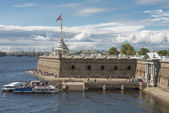 Peter and Paul Bastion in Sankt Petersburg — Stock Photo