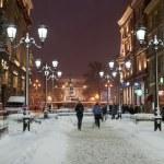 St Petersburg in night. — Stock Photo
