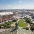 St.ISAAC SQUARE IN SANKT PETERSBURG — Stock Photo
