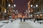 St Petersburg in night. — Stock Photo