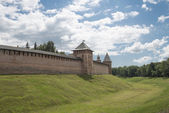 Ancient fortress Novgorod — Stock Photo