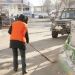 Russistreet cleaner — Stock Photo #36050779