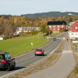 Norwegian road — Stock Photo