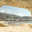 Matala beach — Stock Photo