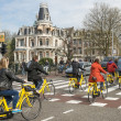 Amsterdam bicycle traffic — Stock Photo #47402967