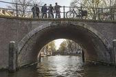 Tunnel Reflections Amsterdam Netherlands — Stock Photo