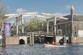 Amsterdam canal — Stock Photo