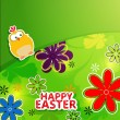 Happy Easter background.Eps10 — Imagen vectorial