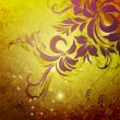 Colorful floral background — Image vectorielle