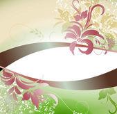 Elegant floral background — Stok Vektör