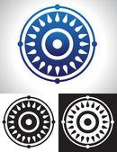 Mandala Symbolism — Stock Vector