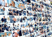 Business collage made of some business pictures — Stockfoto