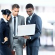 Young and successful businessteam - Stockfoto