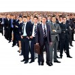 Large group of businesspeople — Foto de Stock