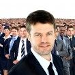 Large group of businesspeople — Stock Photo #41649553