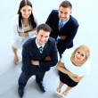 Top view of business people — Stock Photo #42436663