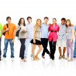 Group of students — Stock Photo #5062557