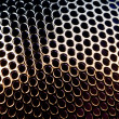 Spherical Metal Grid with Round Cells — Stock Photo #13531339