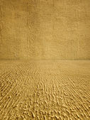 Coarse Textured Stucco Room as Background — Stock Photo