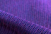 Pink and Purple Macro Fabric Texture — Stock Photo