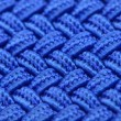 Stock Photo: Blue Interwoven Texture