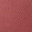 Burgundy Glossy Artificial Leather Texture - Stock Photo