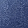 Dark Blue Artificial Leather Background Texture — Stock Photo