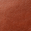 Stock Photo: Brown Glossy Faux Leather Background Texture