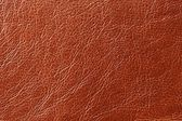 Brown Glossy Artificial Leather Texture — Stock Photo