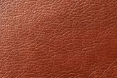 Brown Glossy Faux Leather Background Texture — Stock Photo