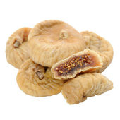 Dried Figs Isolated on White Background — Stock Photo