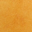 Dark Yellow Leather Texture - Stock Photo