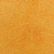 Stock Photo: Dark Yellow Leather Texture