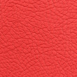 Stock Photo: Red Leather Background Texture