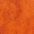 Stock Photo: Dark Orange Patterned Leather Texture