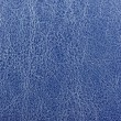 Dark Blue Glossy Artificial Leather Texture — Stock Photo #19431369