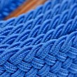Stock Photo: Blue Folded Cord Belt